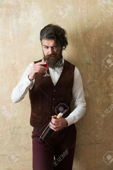 hipster wino