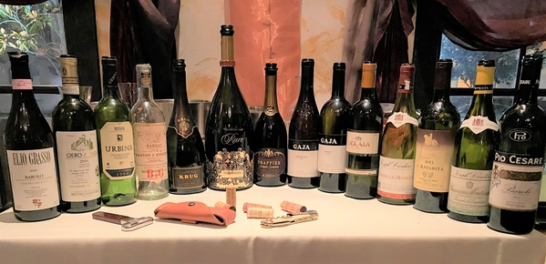 The Noble Line Up with Truffles